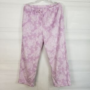 Other - 3/$23 Fleece Lavender PJ Pants